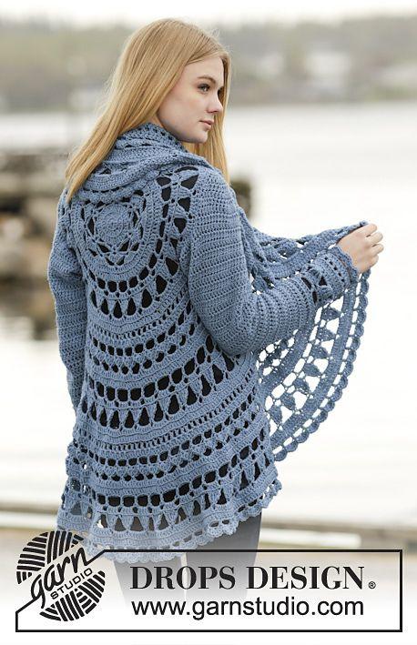 Link Blast: 10 Free Crochet Patterns for Mandala Circle Jackets ...