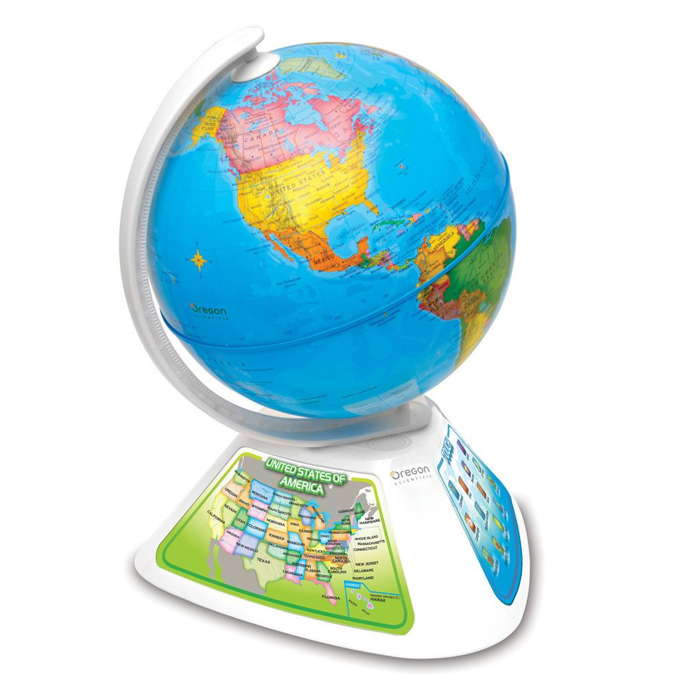 Oregon Scientific SmartGlobe Discovery - Interactive Globe ...