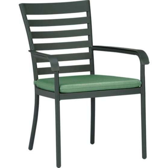 Orleans Dining Chair With Sunbrella Stone Cushion In Outdoor Dining Chairs Crate A Outdoor Furniture Cushions Outdoor Dining Chairs Outdoor Dining Furniture