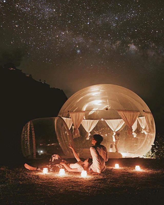 Bubble Hotel Bali: Sleep Under A Tropical Night Sky!#Bali