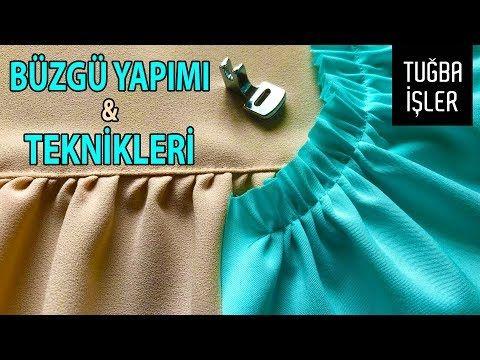Fabrication et techniques de fronces – Utilisation des pieds fronces   Contacter Tuğba directement   – dikiş ve nakış