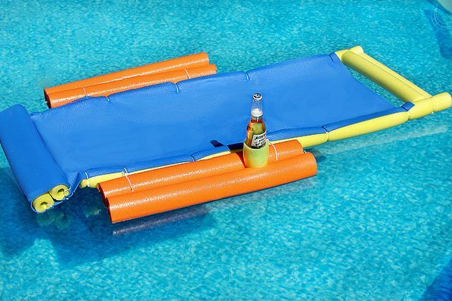 Homemade Floating Lounge Chair | EHow