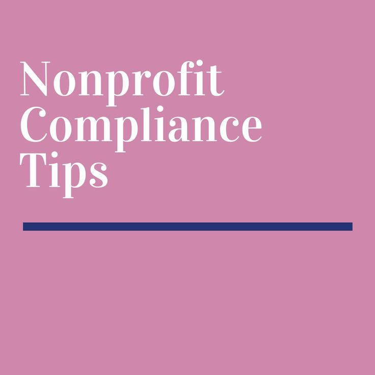 nonprofit organization compliance - Nonprofit Success - Pinterest