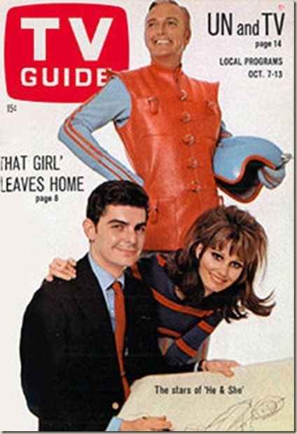 Image result for he and she tv guide cover
