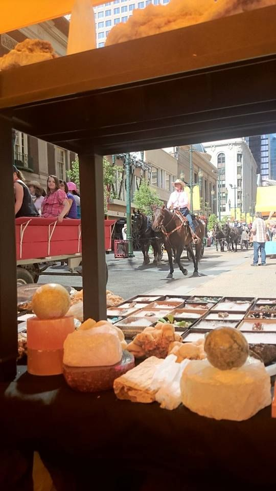 Stephen Ave during Calgary Stampede 2014