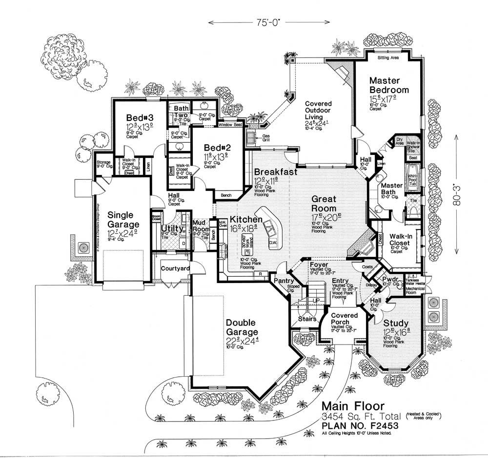 House Plans, Outdoor