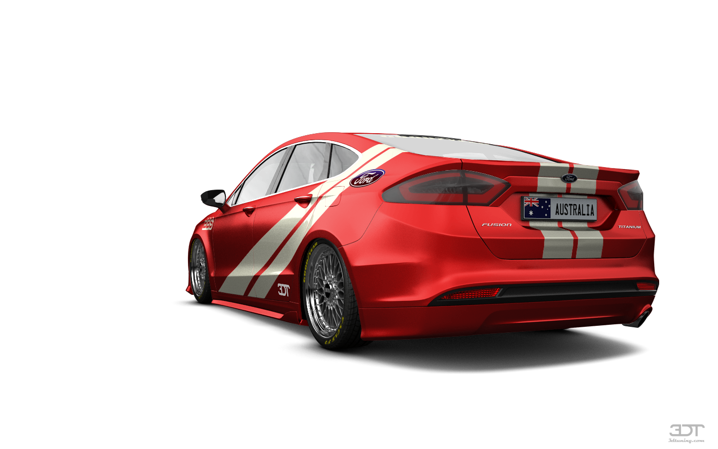 Gallery 3dtuning With Images Ford Mondeo Ford Number Plate
