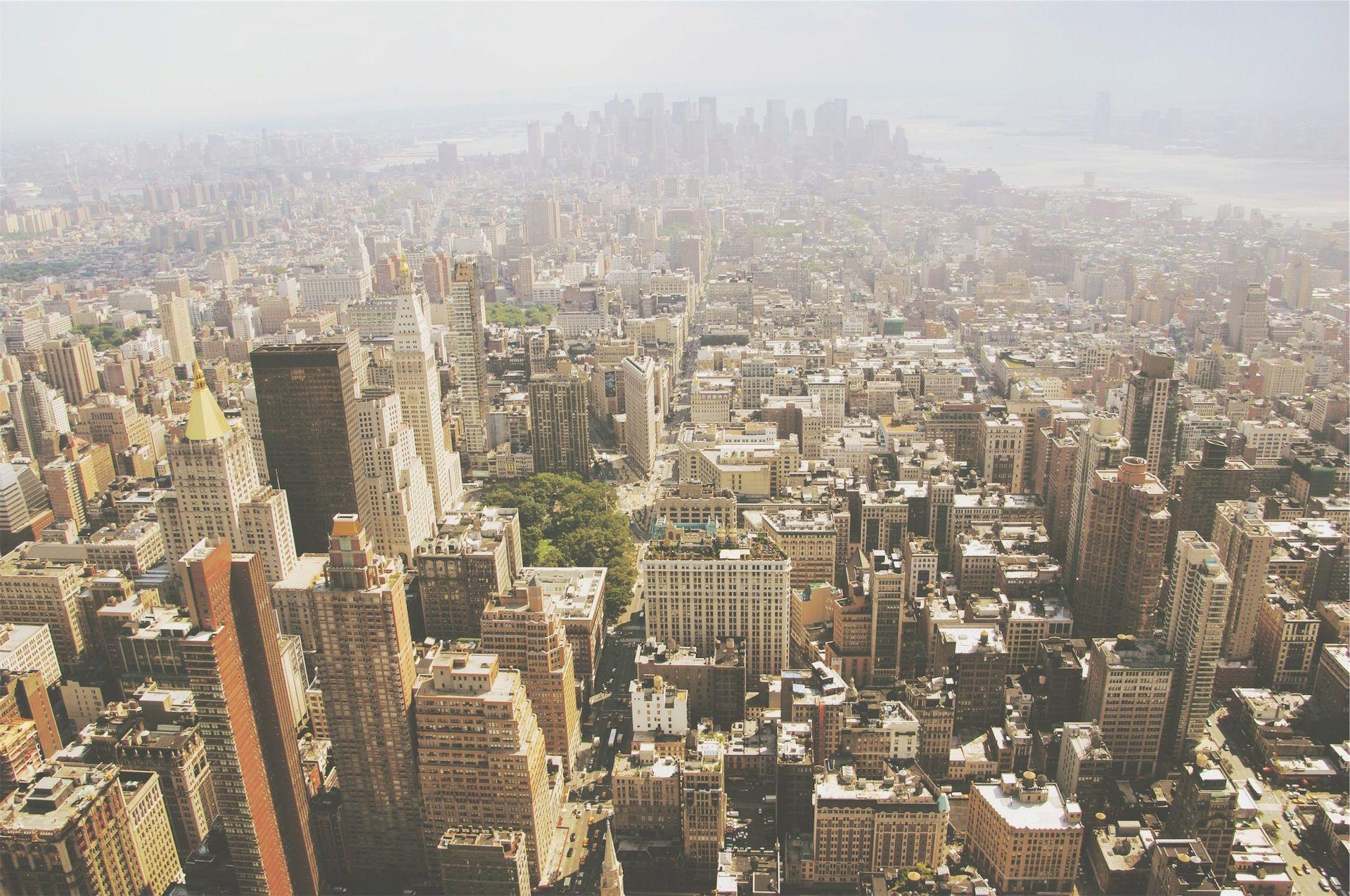 ciudad, metrópolis, aglomeración, contaminación, cemento, 1610251250
