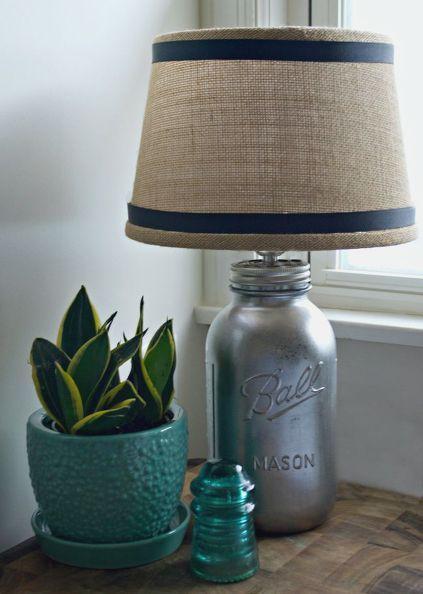 Diy Mason Jar Lamp Mason Jar Lamp Mason Jar Diy Mason Jars