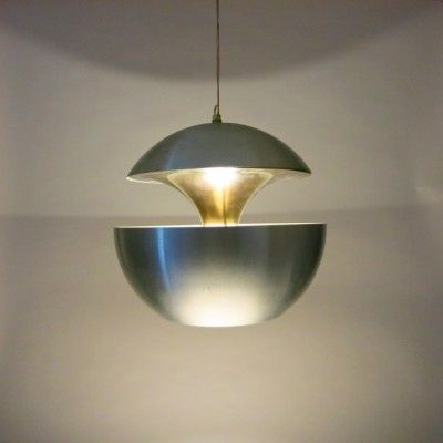 Located using retrostart.com > Spring Fountain Hanging Lamp by ...