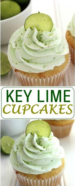 Key Lime Pie Cupcakes KEY LIME CUPCAKES This post may contain affiliate links.