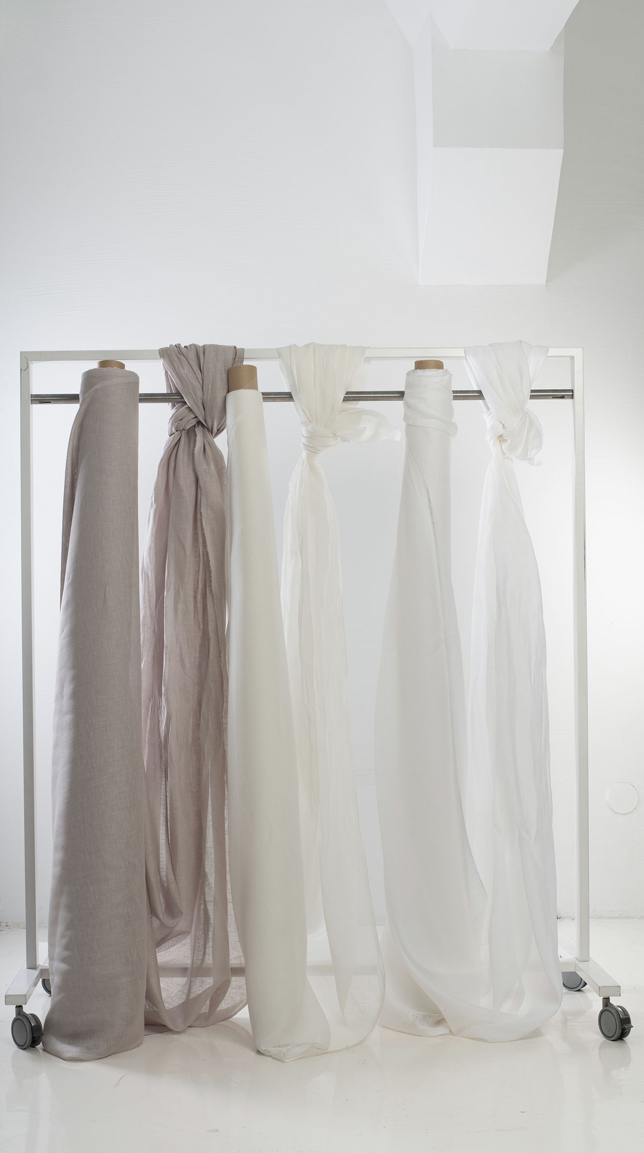 Sheer Curtains With Ties Off White Linen Drapes Tie Top Curtains