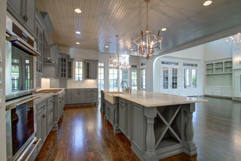 Roosevelt steel gray preassembled kitchen