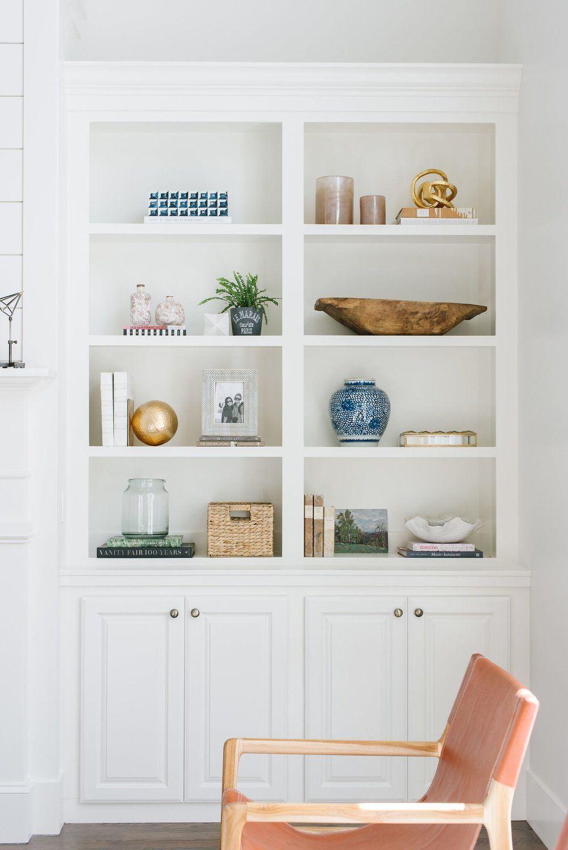 Mcgee And Co Bookshelf Styling Bookshelves Bookshelves Built In