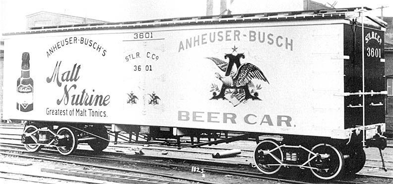 Anheuser Busch Malt  #AnheuserBuschMalt  #AnheuserBusch  #MaltNutrine  #BeerCar  #Railroad  #Trains  #History  #Kamisco