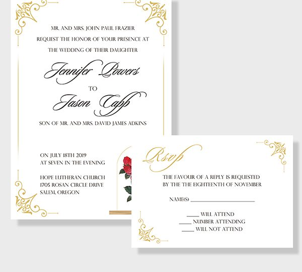 Basic Wedding Invitation Wording You Can Use For Reference In 2020 Wedding Invitation Wording Sample Wedding Invitation Wording Wedding Invitations