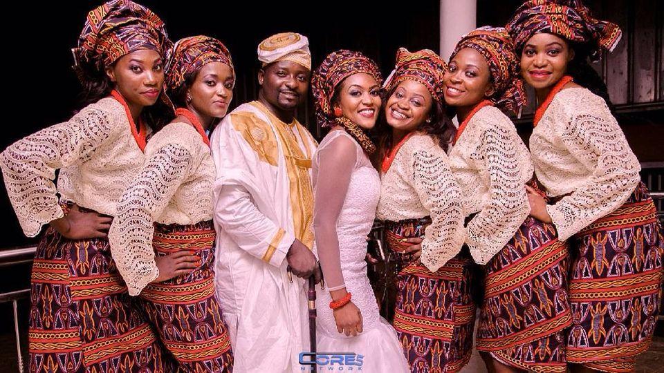 Atoghu cameroonian wedding african inspired fashion