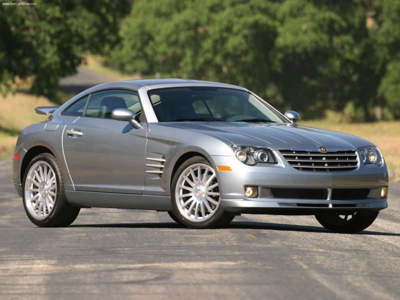 2005 Chrysler Crossfire Srt6 What Better Way To Mark The Mercedes