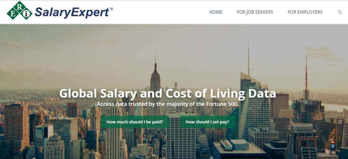 Salary calculator and cost of living data Salary Negotiations - salary calculator