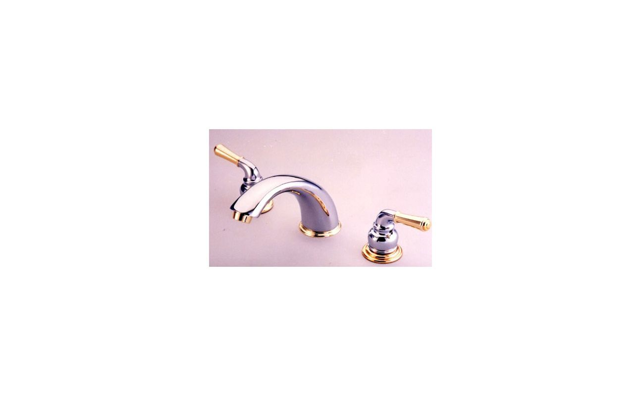 Kingston Brass KB96 Magellan Widespread Bathroom Faucet with Pop-Up ...