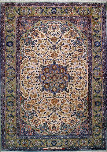 Esfahan Persian Rug Handmade