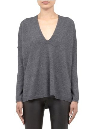2676dc07e VINCE - Wool-cashmere knitted sweater