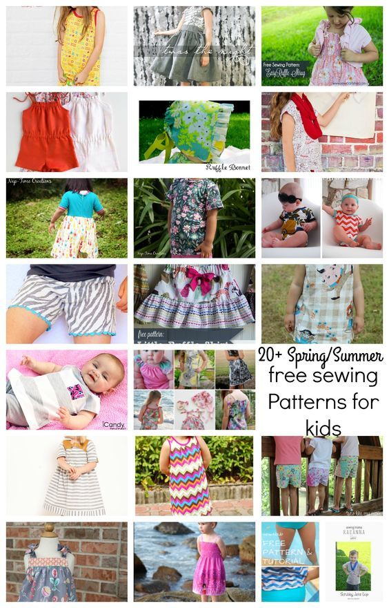My seasonal free sewing patterns for kids round up is one of my favorite posts to write. I've been working on this one since I hit publish on last years Spring Summer Free sewing patterns for kids post. As I've seen quality free patterns I've been collecting links and now I get to share them …: