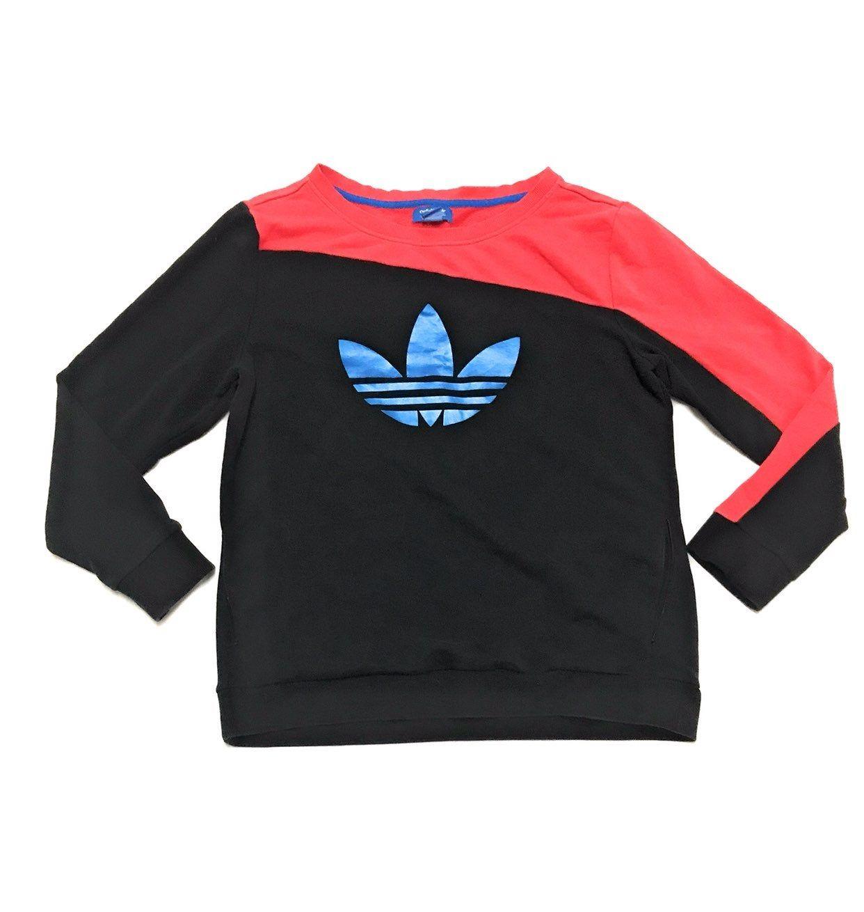 Adidas Trefoil Pink Black Sweatshirt Xl On Mercari Sweatshirts Black Sweatshirts Adidas Trefoil [ 1310 x 1242 Pixel ]