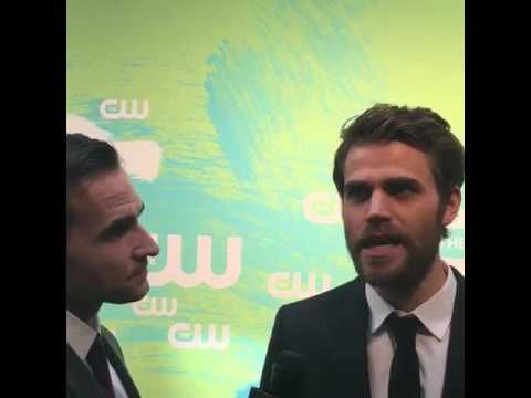 LIVE with #TVD's Paul Wesley at #CWUpfront! https://www.facebook.com/TheCW/videos/10154162598322436/