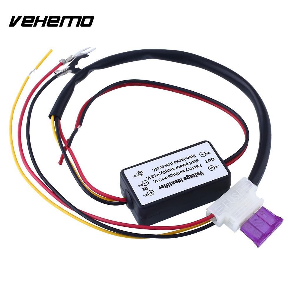 Vehemo Car Led Light Relay Practical Auto Van Drl Efficient Controll