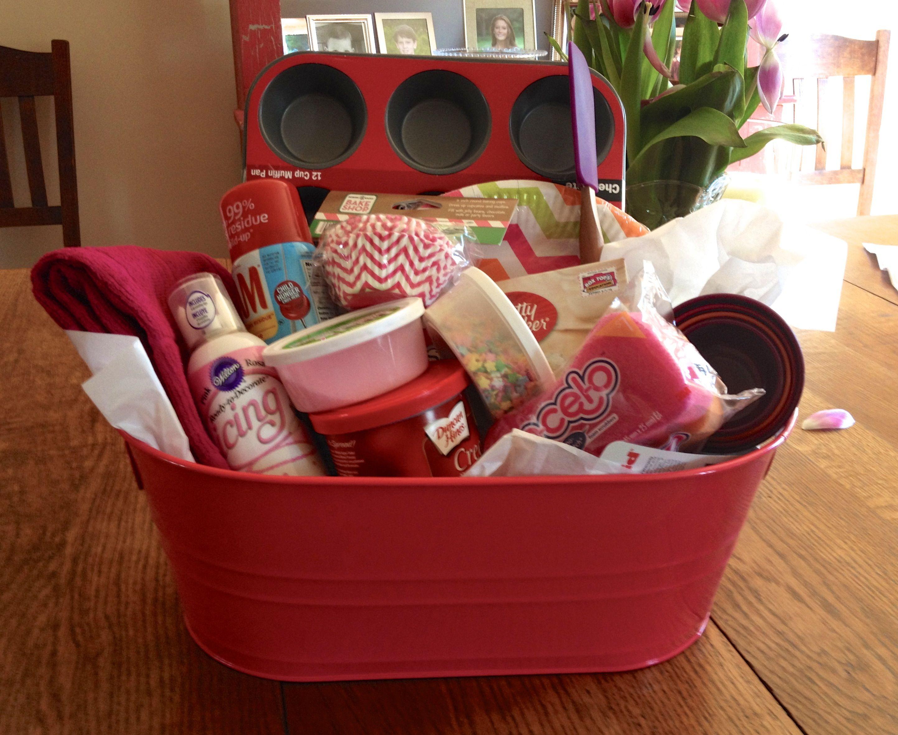 Cupcake raffle basket fundraising ideas pinterest raffle cupcake raffle basket negle Choice Image