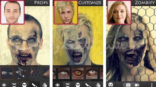 تحويل الصور إلي زومبي Art Painting
