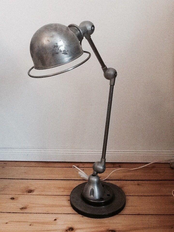 Original Jielde Lampe, Frankreich, Industriedesign, Loft, shabby ...