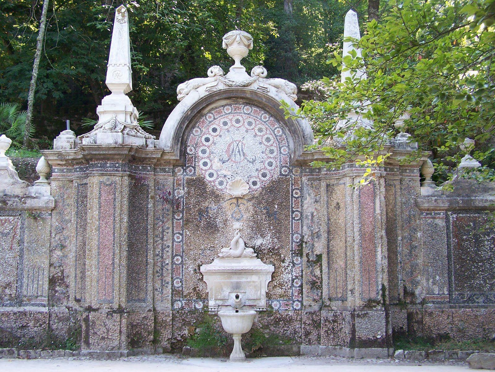 Palácio da Regaleira, Fonte da Abundância