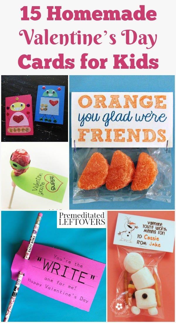 These 15 Diy Valentine S Day Cards For Kids Are Adorable And Fun To