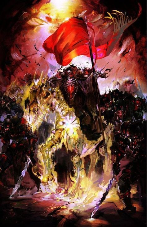 Overlord Ainz Ooal Gown Demon King Anime Art Anime Expo Anime Wallpaper