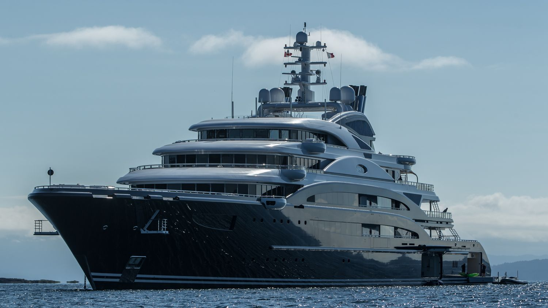 Luxury Mega Yacht Serene Photo By Viktor Davare Vancouver Island