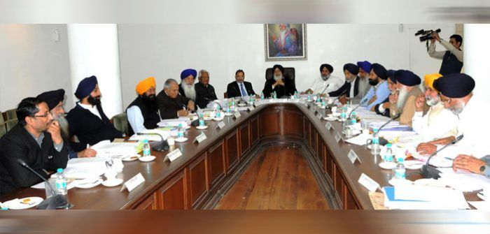 PCOOC Act 2016 Doesn't get a Yes from the Punjab Cabinet Meeting