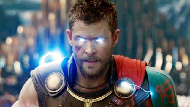 Thor Love And Thunder Will Use Virtual Production From The Mandalorian Chris Hemsworth Chris Hemsworth Thor Marvel Cinematic