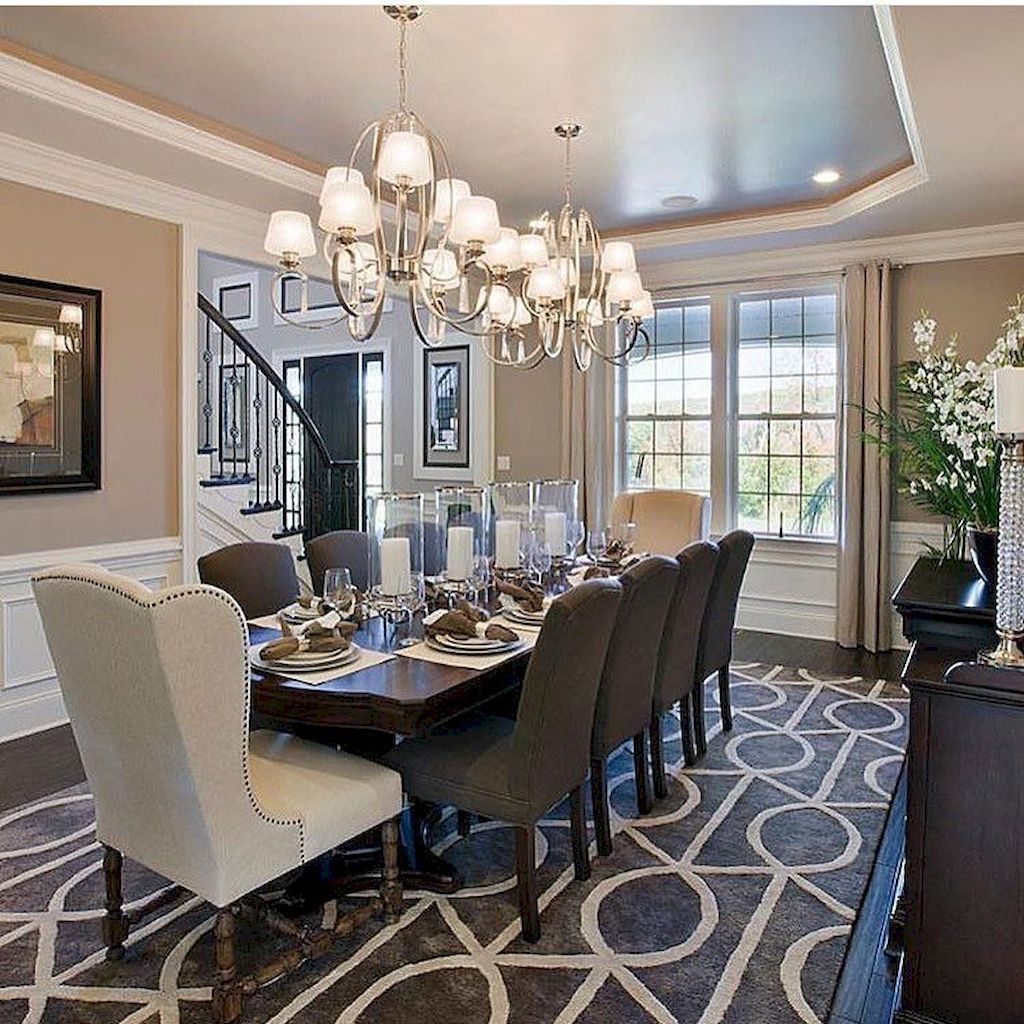 38 The Best Dining Room Decor Ideas With Elegant Look images