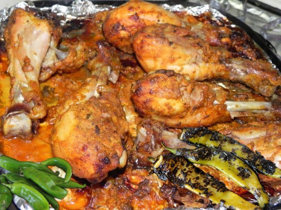 Andhra Chilli Chicken Recipe | Chicken | Pinterest ...