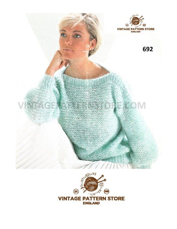 """4ply Knitting Pattern Ladies Cardigan Size 28//42/"""" Chest"""