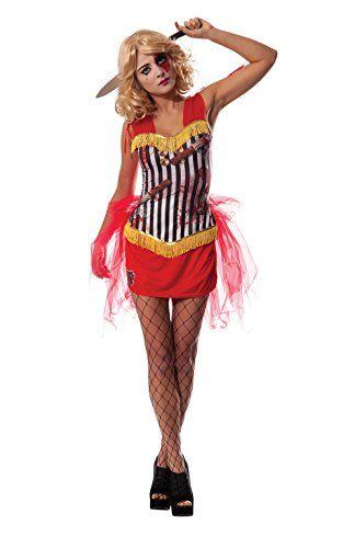 Halloween Kostum Ideen Damen.Damen Zirkus Messerwerfer Kostum Ab 34 Kostum Idee Zu Karneval