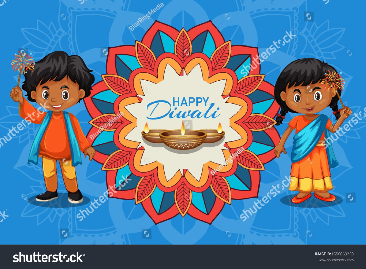 Poster Design For Diwali Festival With Kids And Candle Illustration Ad Ad Diwali Design Poster Festival Candle Illustration Diwali Festival Kids Candles