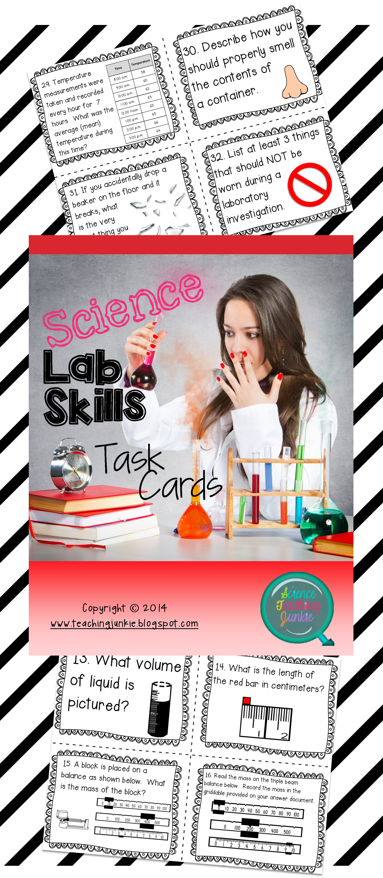 Science Lab Skills Task Cards