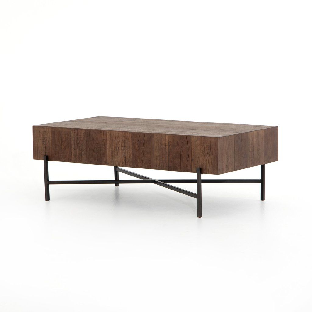 Tinsley Rectangle Coffee Table In Various Colors In 2020 Coffee