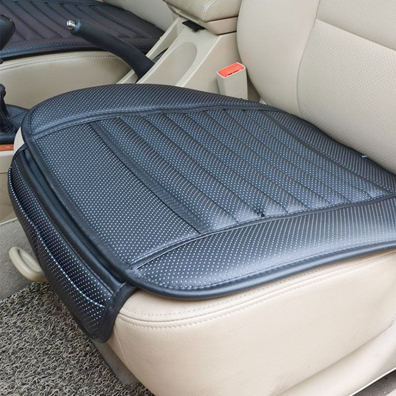 Car Bamboo Charcoal Seat Cushion Breathable Auto Office Cover Pads