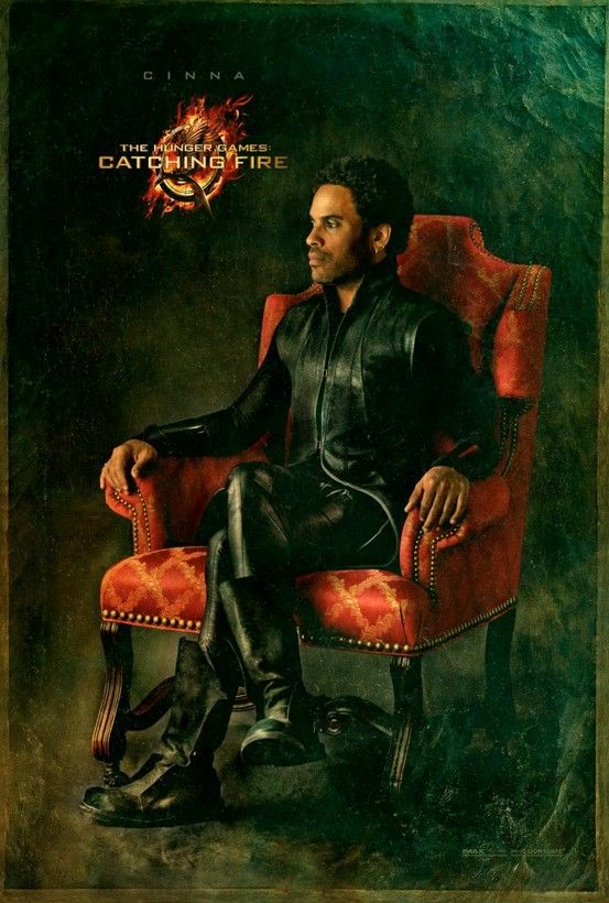 The Hunger Games - Capitol Portrait - Movie Poster - Character Cinna