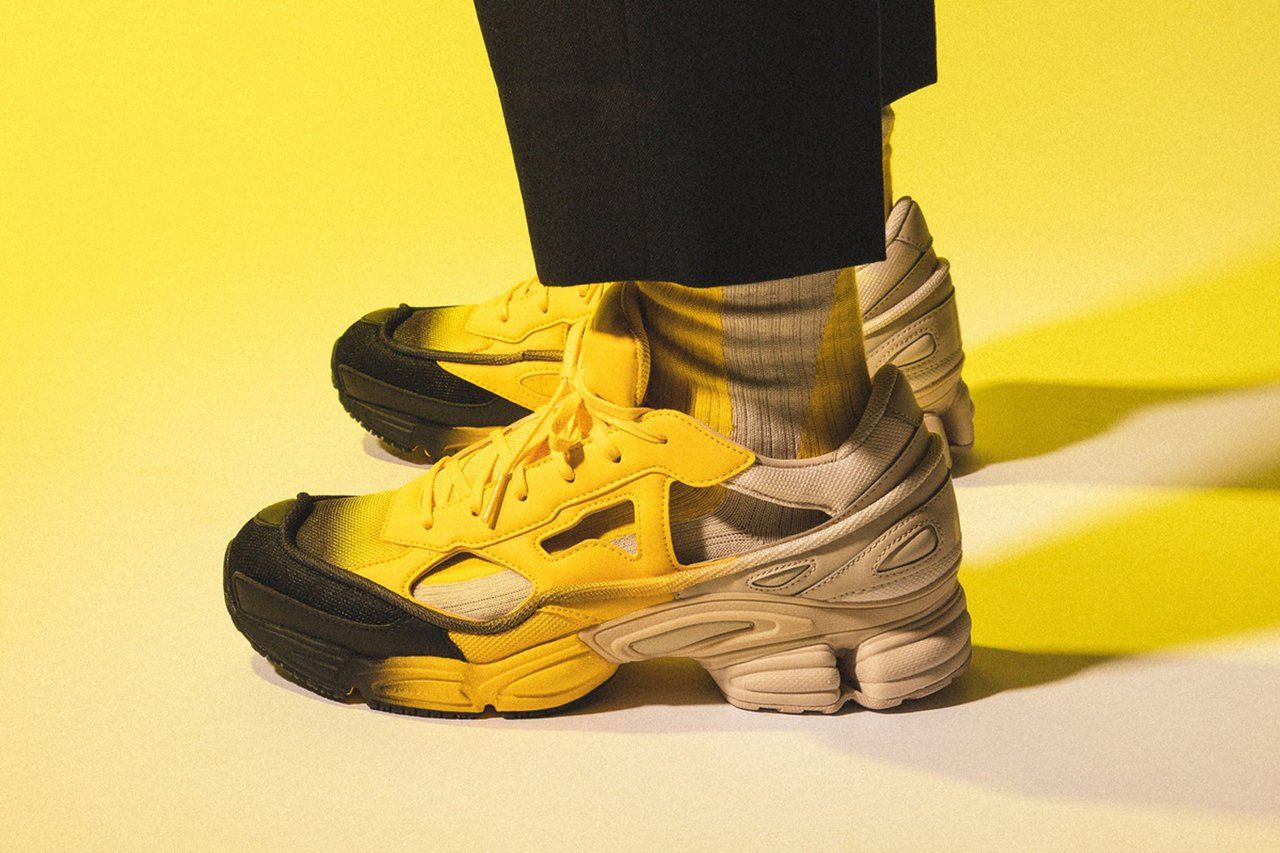 Raf Simons X Adidas - Replicant Ozweego sneakers | Raf ...