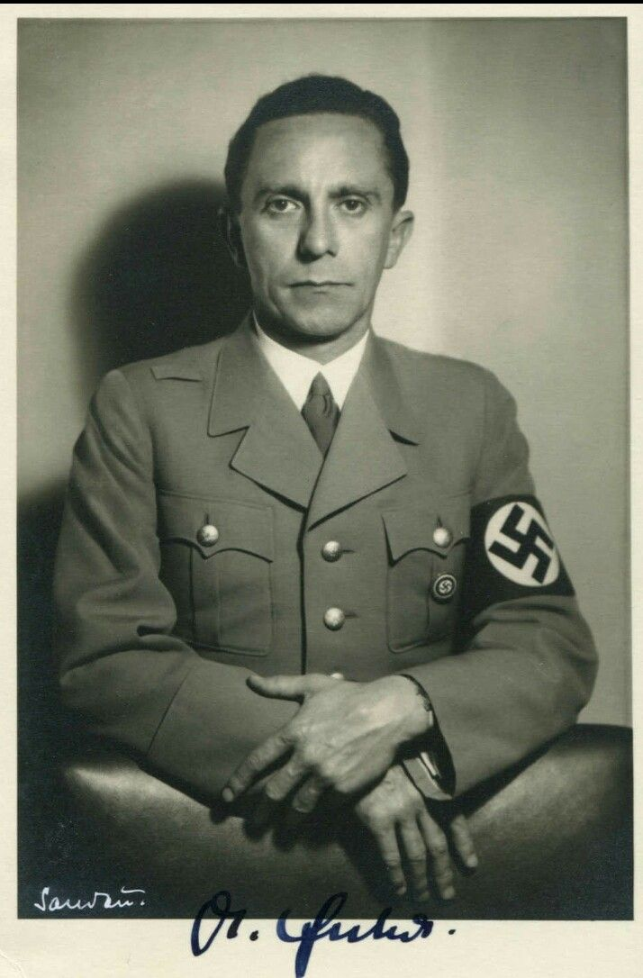 Joseph Goebbels in 1942 | History | Pinterest | History ...